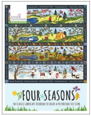 Anita Goodesign - Four Seasons Special Edition - Machine Embroidery Designs Usb
