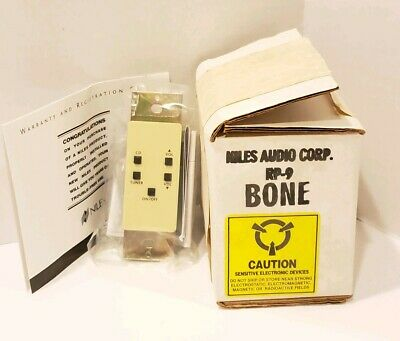 Niles RP-9 Wall Mount Remote Control Keypad for MRZ6 Color: Bone NEW