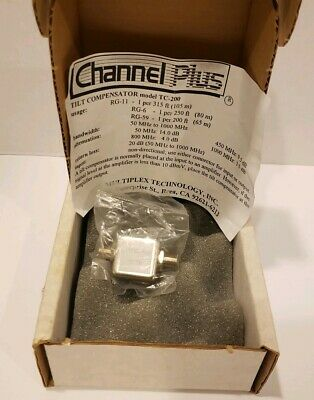 Channel Plus TC-200 Tilt Compensator NEW