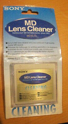 Sony MD6LCL Mini Disc Lens Cleaner NEU in OVP  MD-6LCL MD