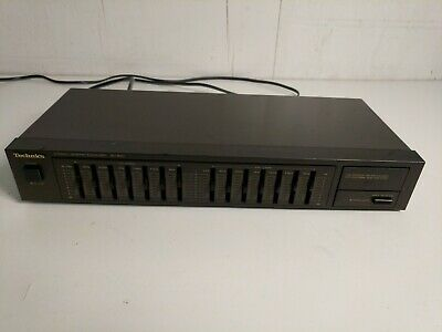 Technics Stereo Graphic Equalizer SH-8017
