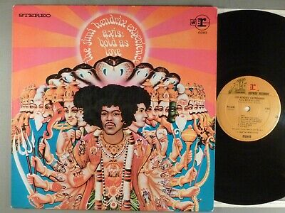 Jimi Hendrix Experience, The  Axis: Bold As Love   Psych  Later Issue