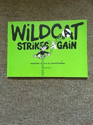Wildcat Strikes Again Anarchist Comics By Donald Roomy Freedom Press