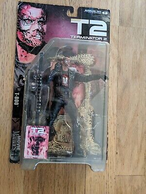 mcfarlane movie maniacs T2 Terminator 2 Judgment Day FIGURE RARE UNOPEND