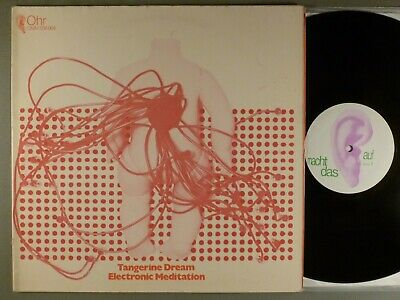 Tangerine Dream  Electronic Meditation   Krautrock; Experimental  Ohr 2nd Press
