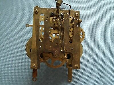 Antique clock movement by HAC