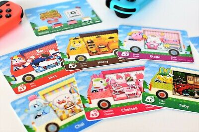 NFC Cards Animal Crossing New Leaf x Sanrio Series for 3DS CUSTOM MADE