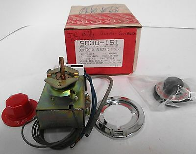 Robertshaw 5030-151 Model D33-15-048-03-00 Electric Thermostat