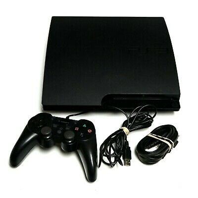 Sony CECH-3001B 320GB Playstation 3 PS3 Video Game Console AS IS READ