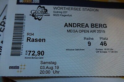 Ticket Mega Open Air 2019 Andrea Berg