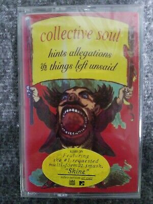 Collective Soul Hints Allegations and Things Left Unsaid Cassette -STILL SEALED-
