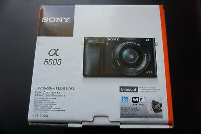 Sony Alpha a6000 Mirrorless Digital Camera with 16-50mm Lens, Graphite ILCE-6000