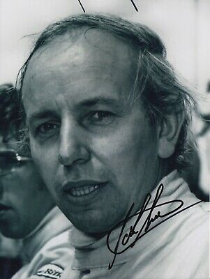 John Surtees Hand Signed 8x6 Photo - MotoGP Autograph.