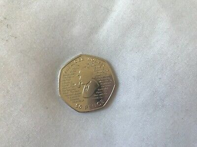 2019 Sherlock Holmes 50P Fifty Pence Uk Uncirculated Coin Official Uk Issue