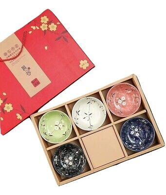 Japanese Chinese Style Rice Bowl Gift Set - UK Seller, Fast Delivery