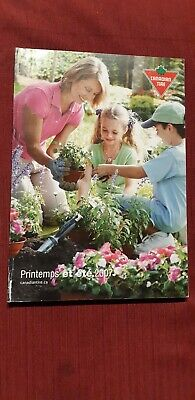 Canadian Tire Catalog 2007 french version Very Rare summer AND winter edition.