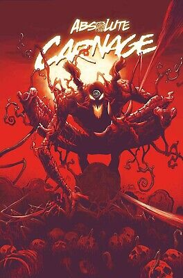 ABSOLUTE CARNAGE #1 Stegman Cover A Ships fast and safe in Gemini. Marvel HoTt F