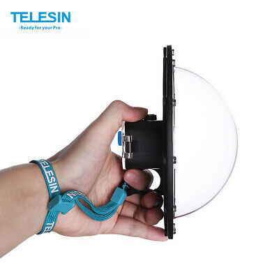 PORTA DOME TELESIN immersioni custodia impermeabile per videocamera  HERO E7W7