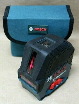 Bosch GCL 2-160 Self-Leveling Cross Line Laser w/ Plumb Points Factory Recond