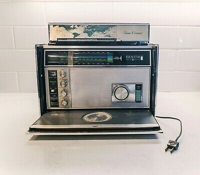 Vtg Zenith TransOceanic Royal D-7000Y 11-Band Solid State Radio National Weather