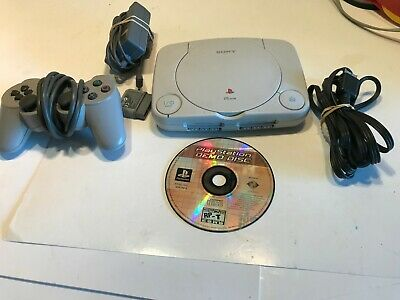 Sony Playstation 1 PS1 Slim PS One SPCH-101 Console Tested Works Great Very Nice