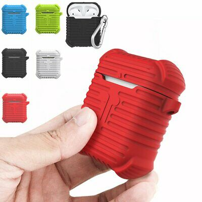 AirPods Case Protective Silicone Skin Holder Bag Accessories for Apple Air Pod