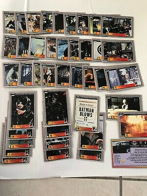 Batman Returns Trading Cards 42 Card Of 120