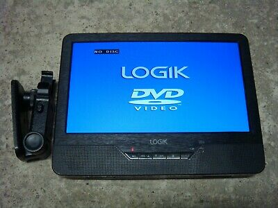 "LOGIK 9"" Tablet In Car Portable DVD Player L9DUALM13 (unit only)"