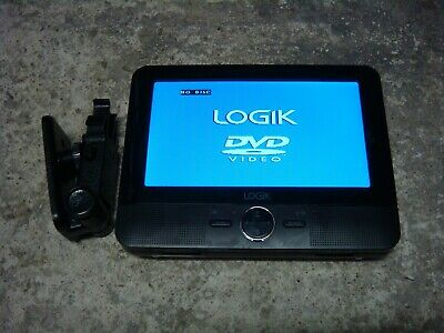 "LOGIK 7"" Tablet In Car Portable DVD Player L7DUALM13 (unit only)"