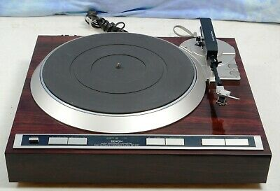 Vintage Denon DP-37F Fully Automatic Turntable