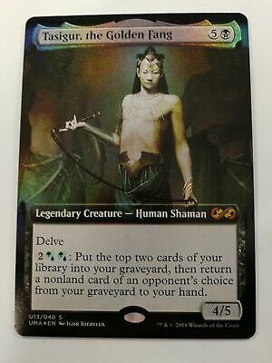 Tasigur English the Golden Fang MTG Ultimate Masters M//NM
