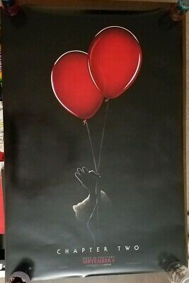 It Chapter Two Stephen King 27x40 Original DS Theatrical Movie Poster