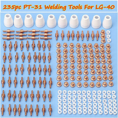 12MM Cutting Cutter cover Distributor 235pc PT-31 Air Plasma Consumable CT-312