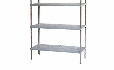 M-Span Coolroom Freezer Dry Store Shelving Stainless Steel Post 1200H x 460W