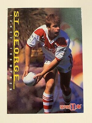 Dynamic NRL Rugby League Series 2 '96 Card St George Dragons #123 Damien Smith