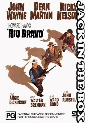 Rio Bravo DVD NEW, FREE POSTAGE WITHIN AUSTRALIA REGION 4