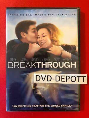 Breakthrough DVD **AUTHENTIC DVD READ DESCRIPTION** Brand New FAST Free Shipping