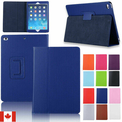 For iPad 9.7 2018 6th Gen / 2017 5th PU Leather Folding Folio Case Smart Cover