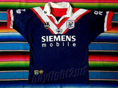 ✺Great Condition✺ 1999 SYDNEY CITY ROOSTERS NRL Jersey SIZE XL