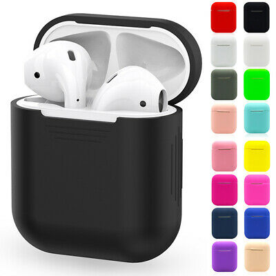 Wireless Headset Cover Silicone Earbud Headset In-Ear Pouch Bag For Apple AirPod