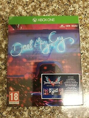 Devil May Cry 5 Deluxe Steelbook XBOX ONE (New Sealed)