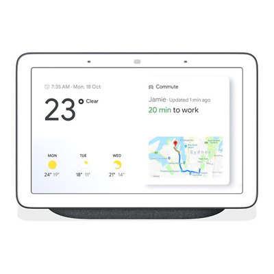 Brand new Google Home Hub Smart Display & Home Assistant - Charcoal