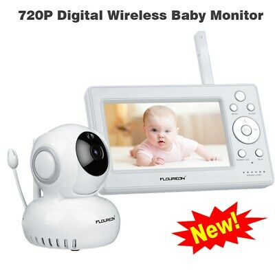 "Baby Monitor Babyfone Video Überwachung Pan/Tilt 720P HD 5"" LCD Screen Babyphone"