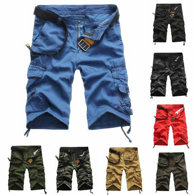 Men Army Camouflage Casual Short Pants Cargo Sport Outdoor Summer Trouser Khakis