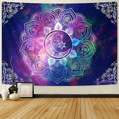 Mandala Hippie Flower Tapestry Room Wall Hanging Throw Psychedlic Tapestry Decor
