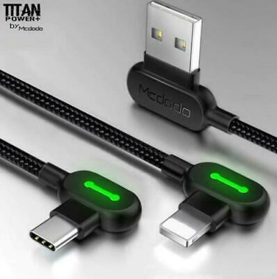 TITAN POWER+ Smart 3.0 Lightning Charging Cable For iPhone 8 7 6s Plus XS MAX XR