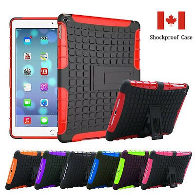 """Shockproof Heavy Duty Tire pattern Case Cover for iPad Mini 1234 Air 2 9.7"""" 2017"""
