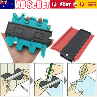 Shape Contour Duplicator Profile Gauge Tiling Laminate Tiles Edge Template Tool
