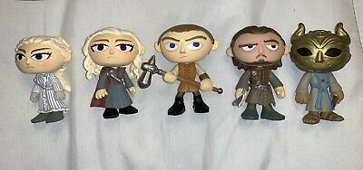 Funko Game Of Thrones Mystery Minis Series 3 And 4 LOT Daenerys HT Gendry