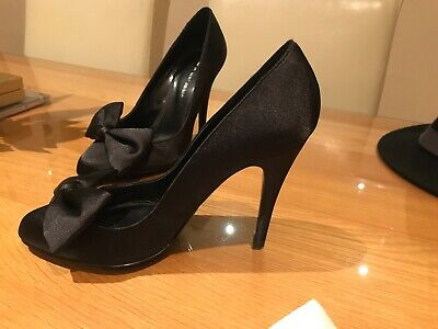 Kurt Geiger Satin Heels Court Shoes with Bow